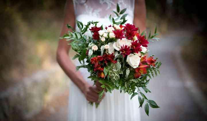Bouquet sposa, colore e natura