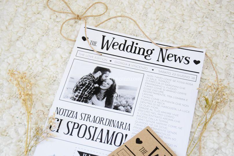 Partecipazioni newspaper