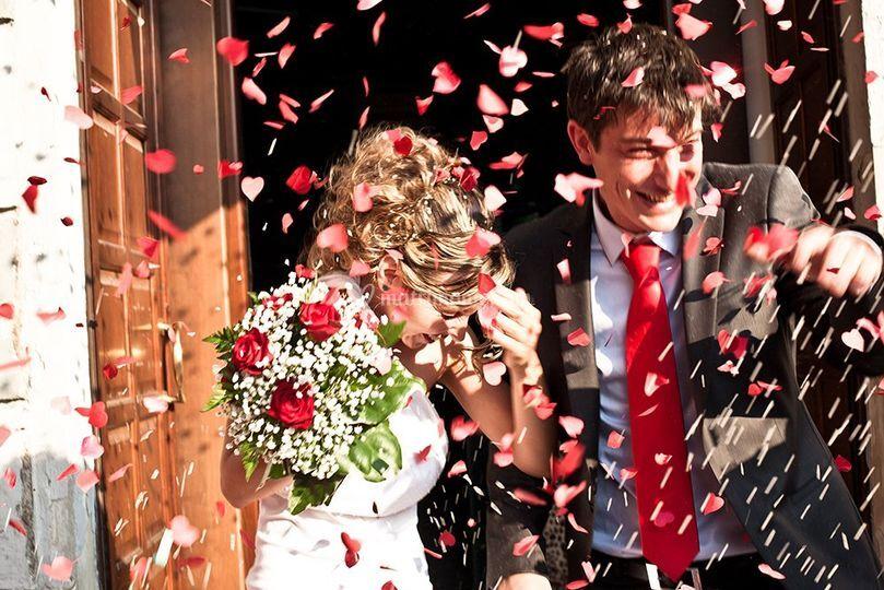 Sposi e rose!