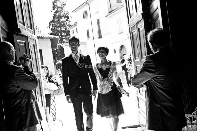 Arriva lo sposo!