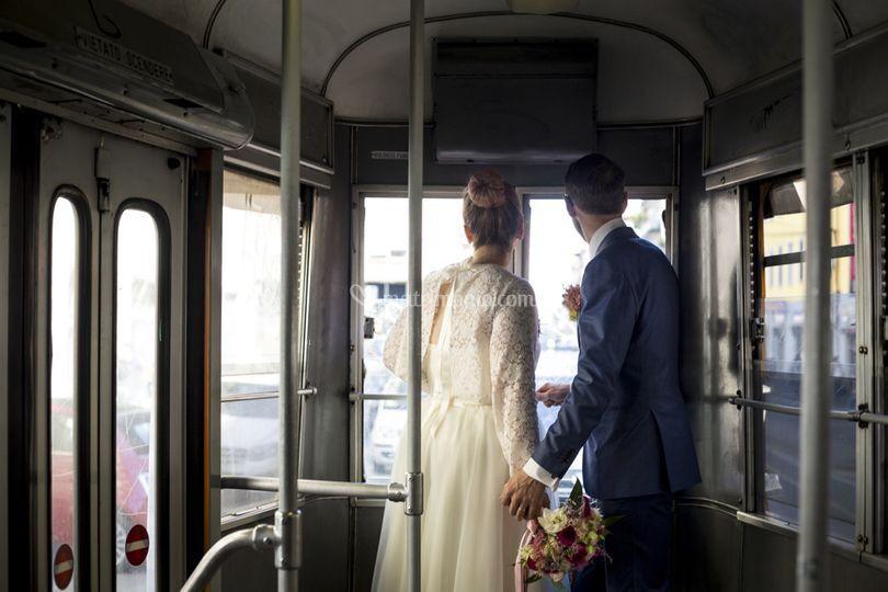Sposi sul Tram 2