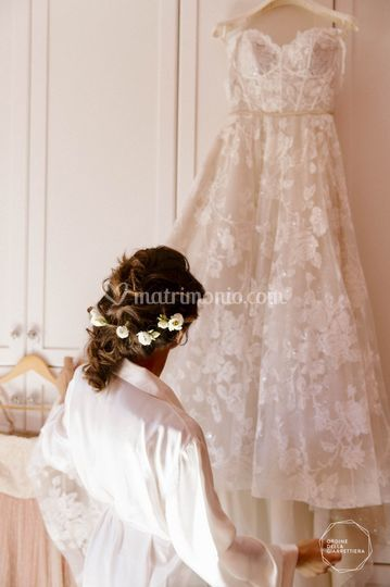 La sposa e l'abito