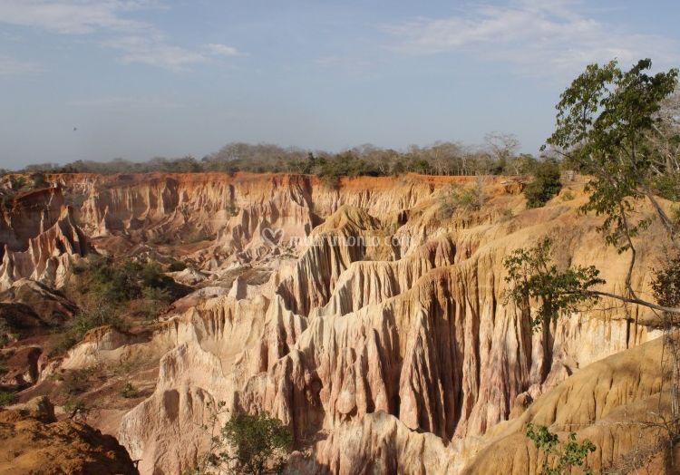 Marafa Canyon Kenya