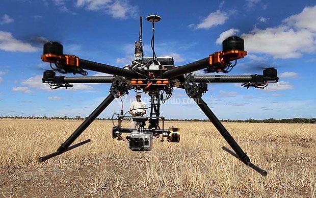 Drone in manovra