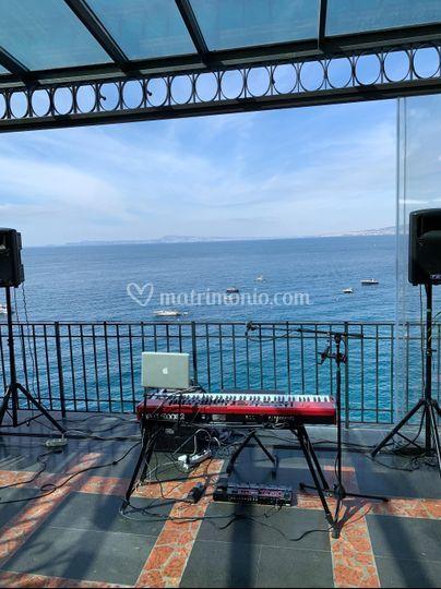 Wedding on the sea