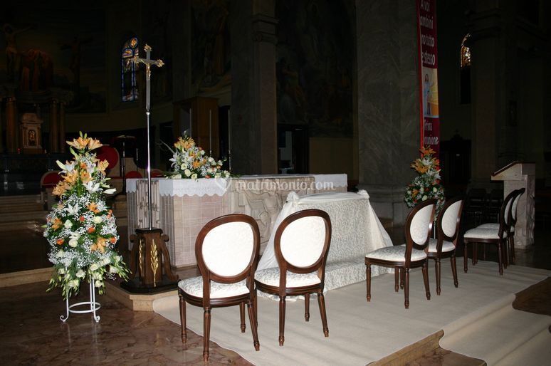 Allestimenti in chiesa