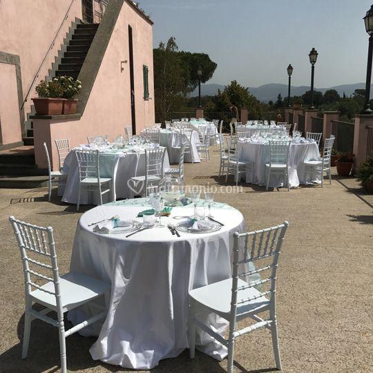 Villa catering