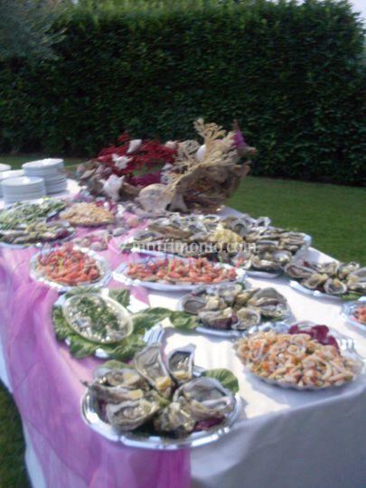 Buffet crudità pesce