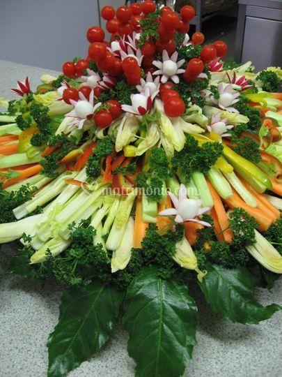 Piatto di verdura