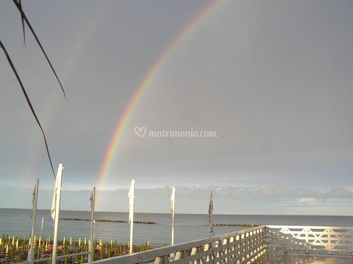 Vista terrazza arcobaleno