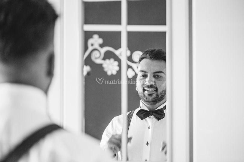 I preparativi dello sposo
