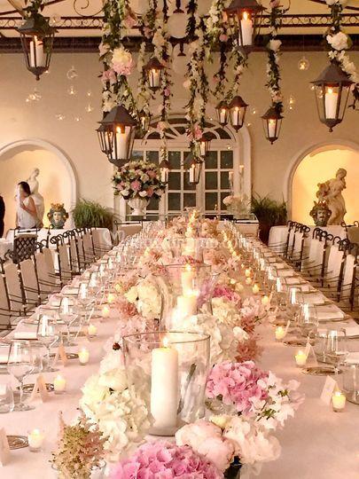 La Veranda tavolo imperiale