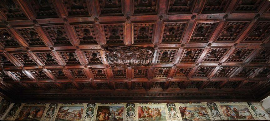 Soffitto a Cassettoni 1630 ca