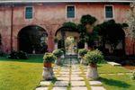 La corte e l'ingresso al parco di Ristorante Villa Boselli