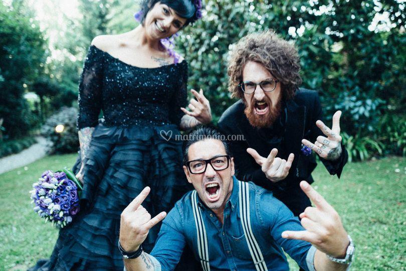 Matrimonio e Celebrante Rock