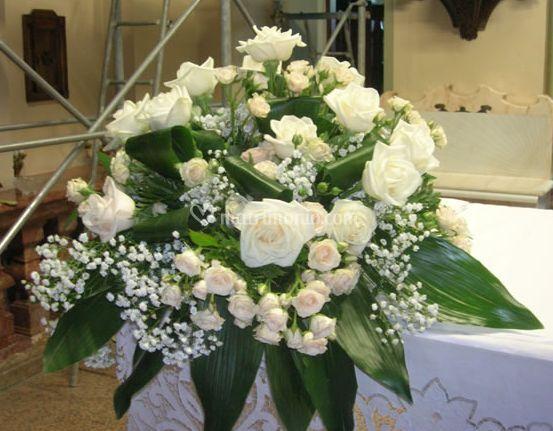 Bouquet per altare