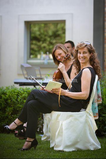 Violinista piano e soprano