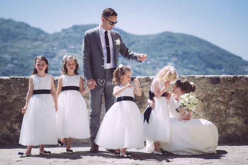 Bambini wedding reportage