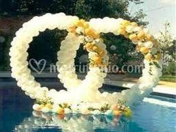 Naninag decorazioni con palloncini noleggio gonfiabili - Decorazioni matrimonio palloncini ...