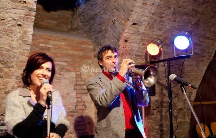 Roberta Righi e Stefano Caleffi live