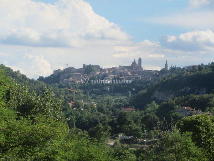 Vista di Urbino