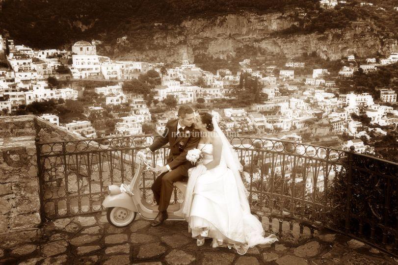 Foto matrimonio artistica