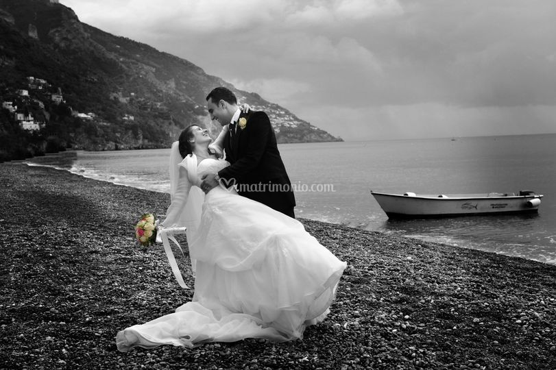 Foto matrimonio in spiaggia