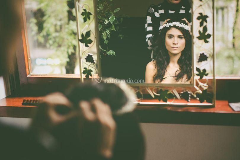 Ina mirror