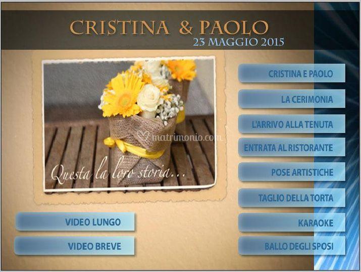 Menù DVD Video