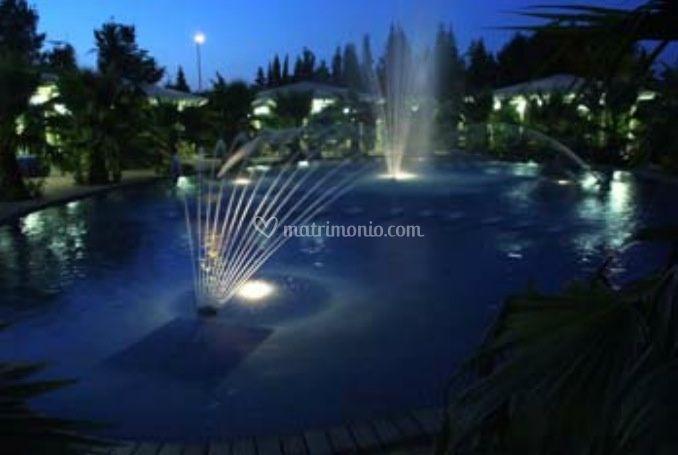 VIsta esterna piscina