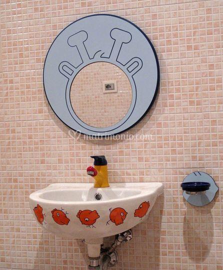 Il bagno per i più piccini