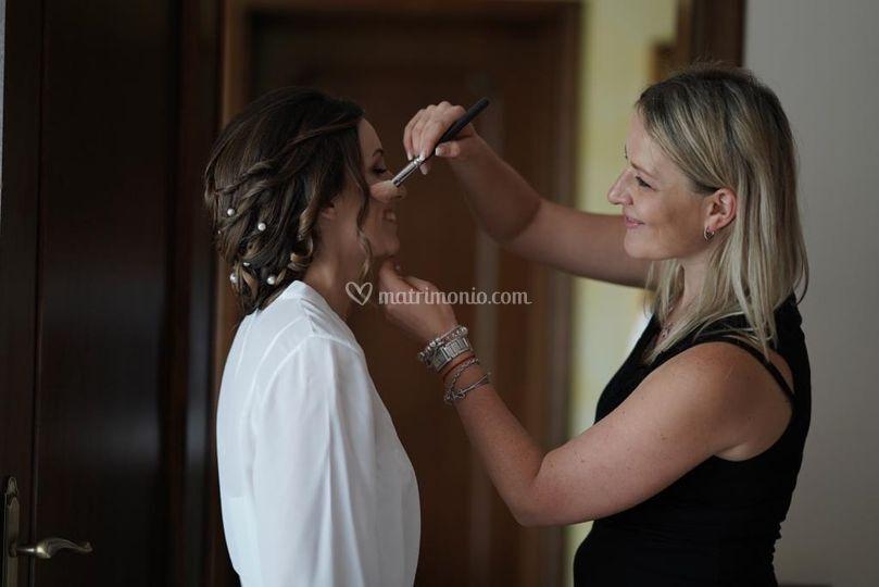 Make-up sposa Tania