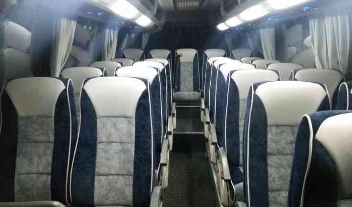 Interno minibus