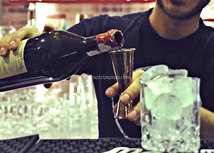 Preparazione di un drink