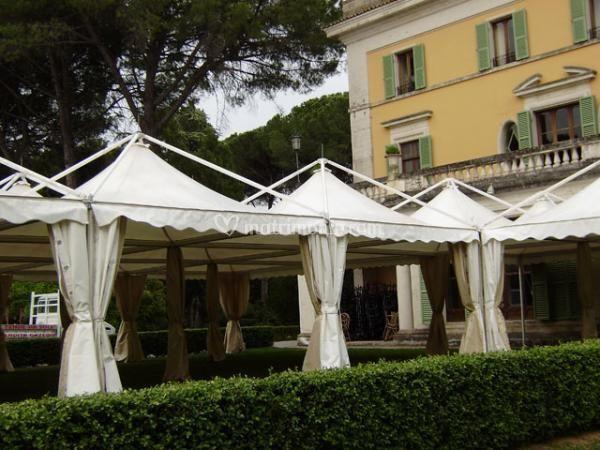 Gazebo per arredo giardino di mancinelli allestimenti srl for Arredo giardino torino