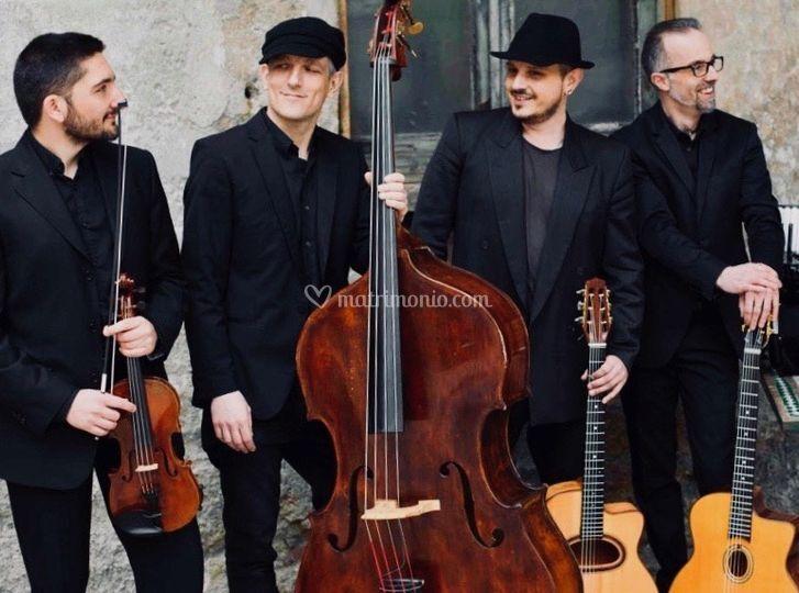 The quartetto WGS