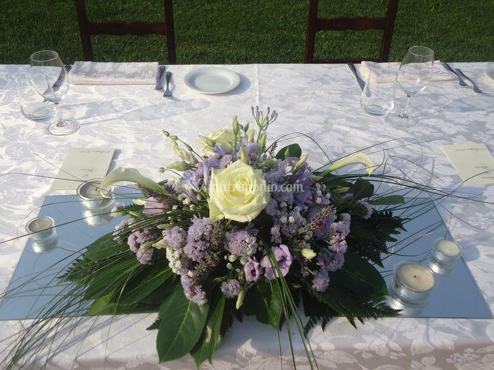 Allestimento tavoli catering