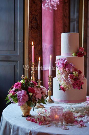 Romantico sui toni del rosa