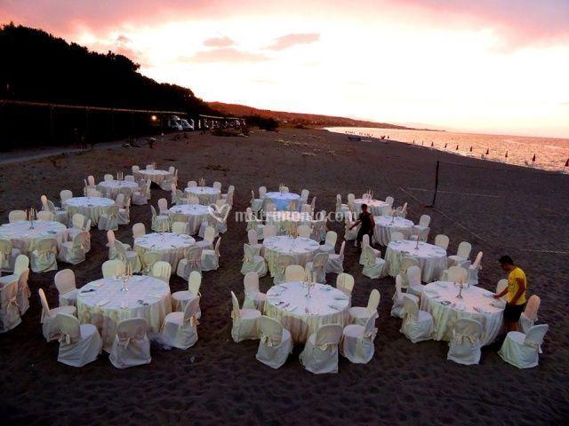Evento in spiaggia
