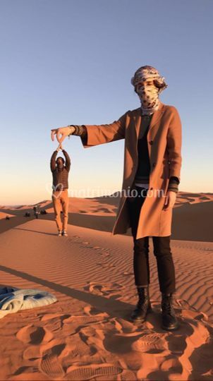 Deserto merzouga, marocco