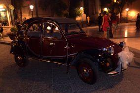 Nozze con Citroën 2 CV 6 Charleston