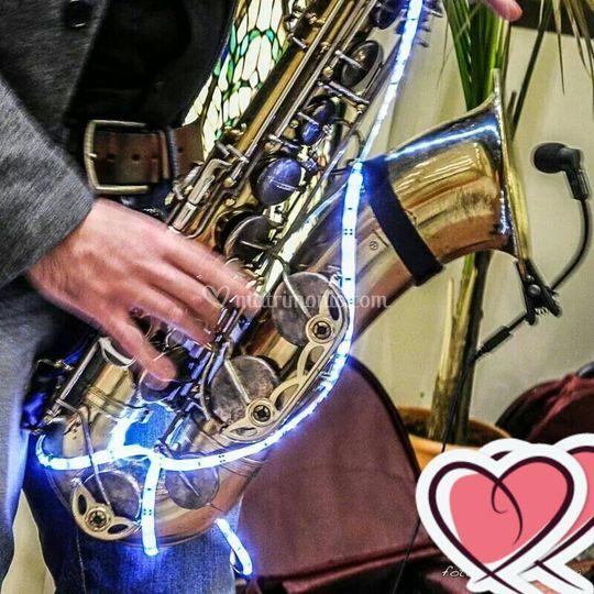 Saxophone Led