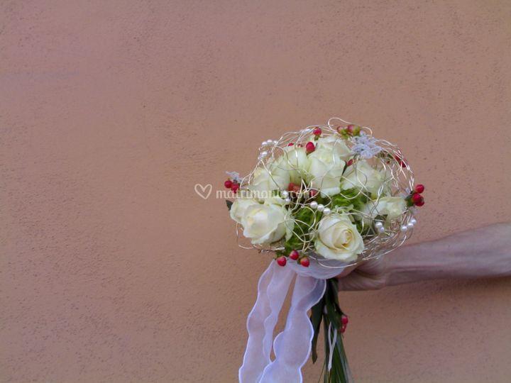 Bouquet  con struttura
