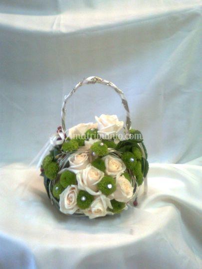 Bouquet con strutturina