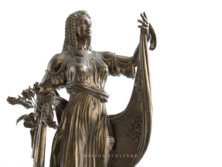 Rosina sculture for Arredamenti franceschini