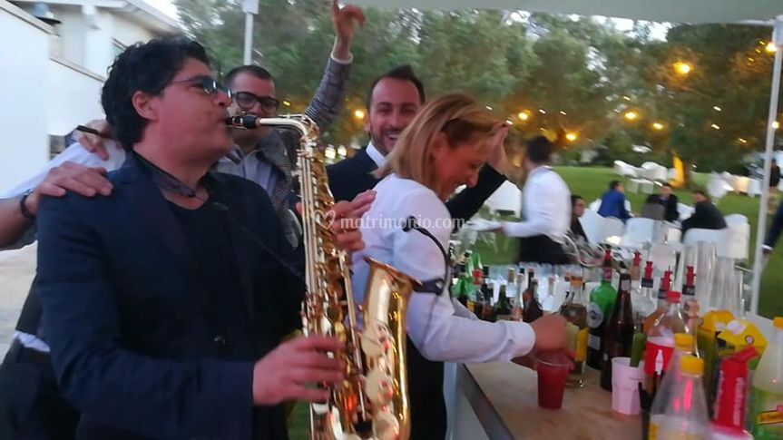 Sax and Cocktails!