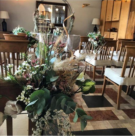 Cerimonia al ristorante