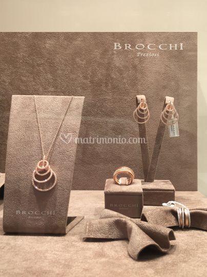 Vetrina Brocchi Gioielli