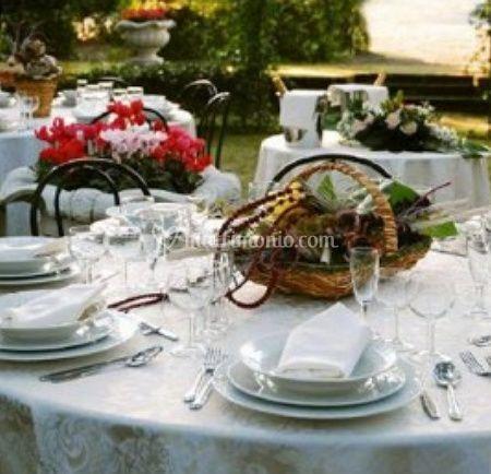 Dettaglio tavoli
