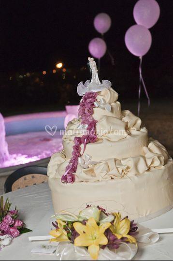 Particolare torta